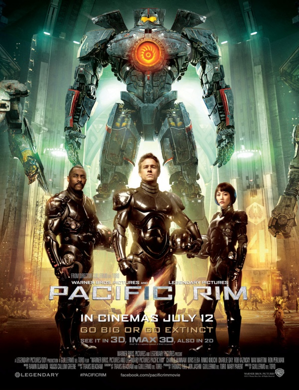 Ciencia y acción: Pacific Rim | Feedback Ciencia Pacific Rim 2013 Dvd Cover