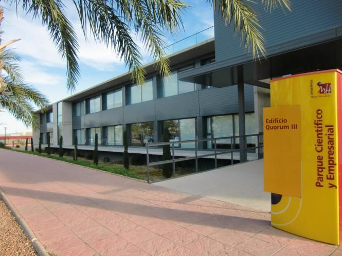 l Parque Científico de la Universidad Miguel Hernández cuenta con cinco edificios para albergar sus infraestructuras.