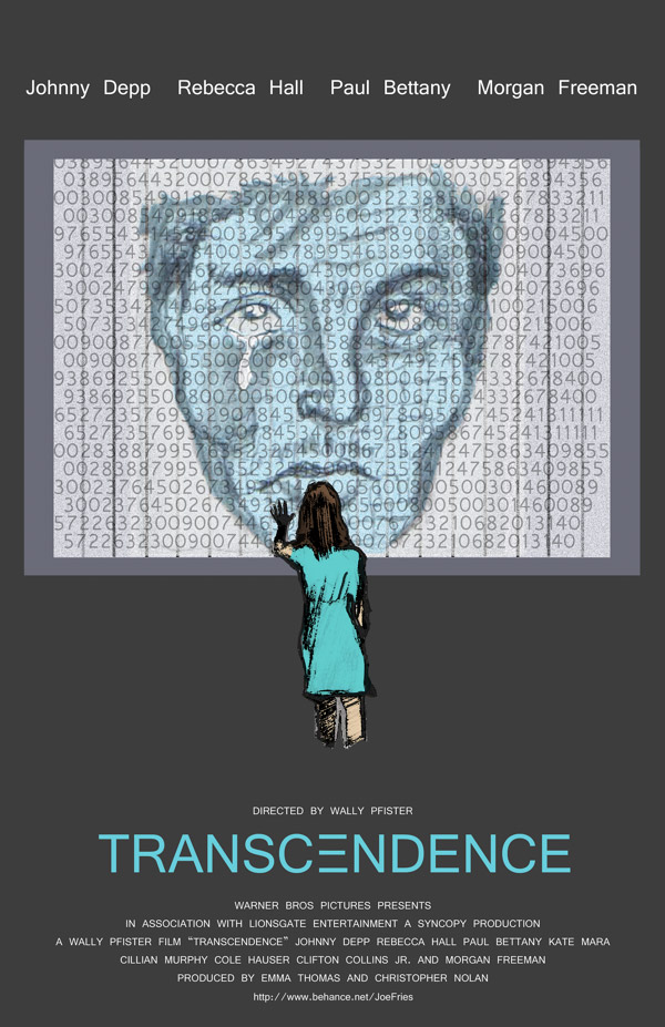 poster alternativo Transcendence