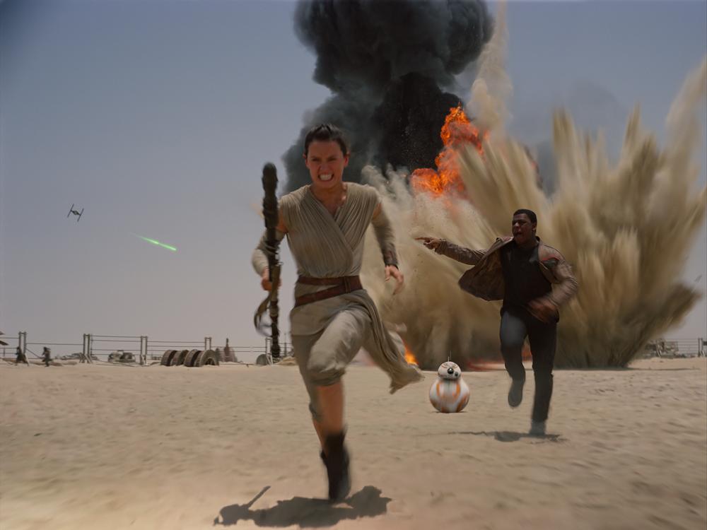 Rey BB-8 Finn